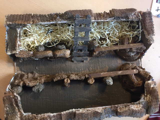 World War One Trench Model