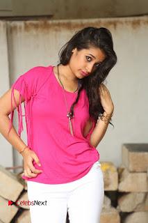 Actress Santhoshi Sharma Pictures in White Jeans at Ramasakkanodu Movie Opening  0050.JPG