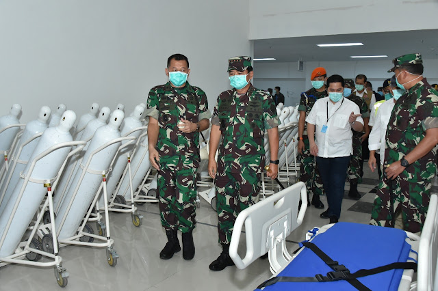 712 Pasien Masih Jalani Rawat Inap di Rumah Sakit Darurat Wisma Atlet