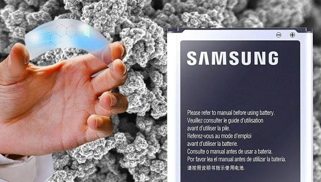 سامسونج تطور بطارية مصنوعة من الجرافين للهواتف الذكية