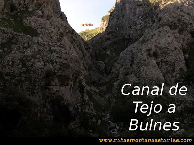Ruta del Cares: Canal del Tejo a Bulnes
