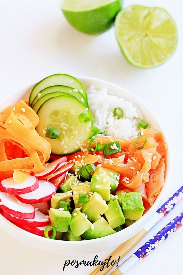 Sushi bowl – miska sushi na zdrowie!