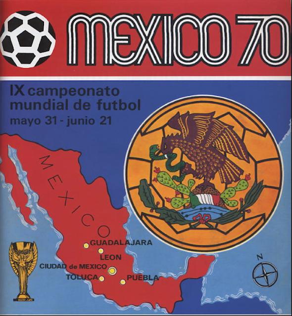 Album Panini Messico '70 versione internazionale