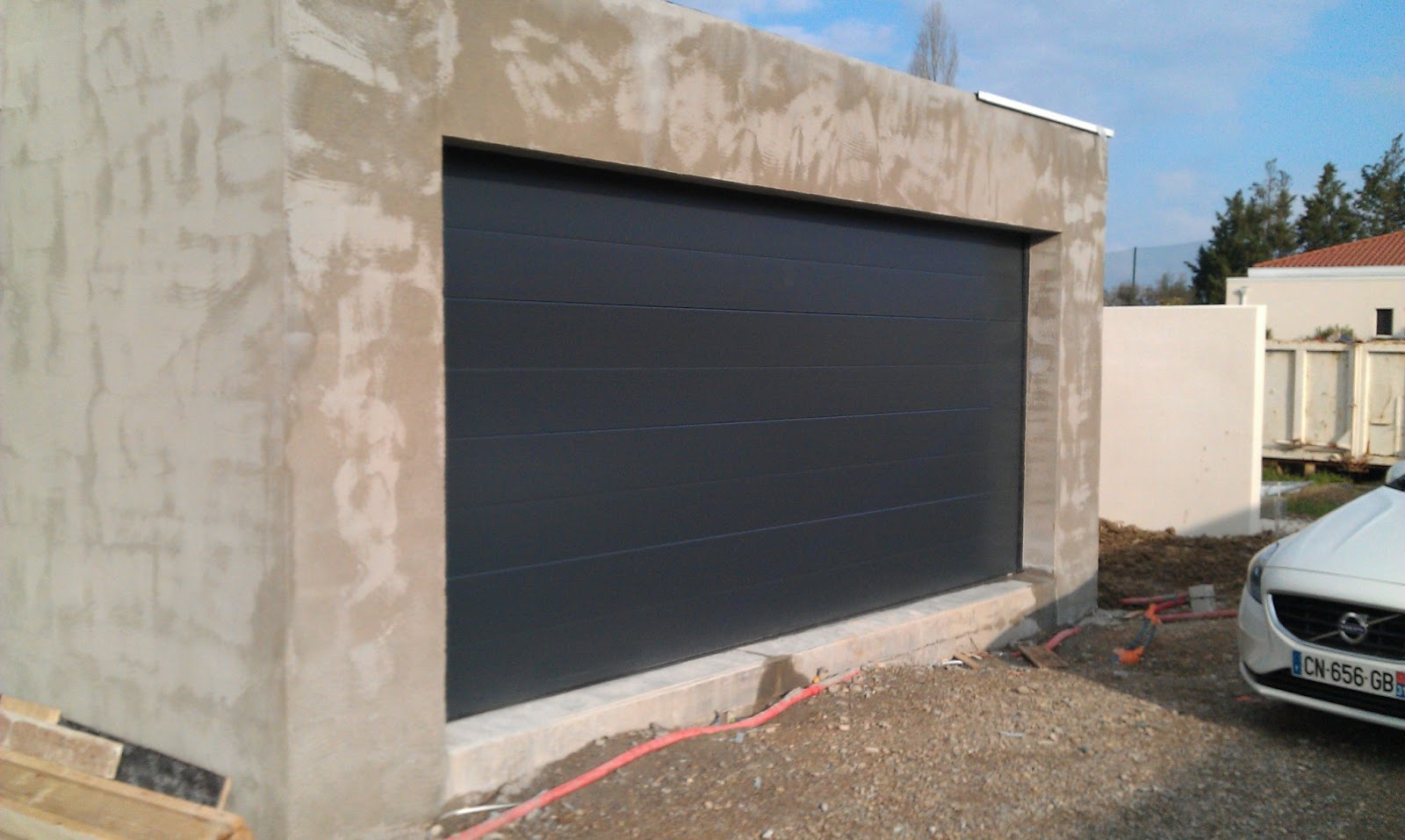 porte de garage sectionnelle 5 m