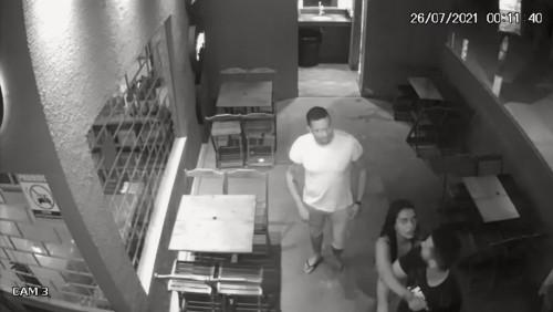 Novo vídeo mostra início da briga que resultou no assassinato de PM - veja