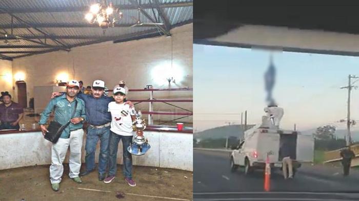 Vídeo; El Michoacano jefe de plaza en Valle de Santiago la libro una vez, pero esta mañana el CJNG lo ejecuto y lo colgó de un puente