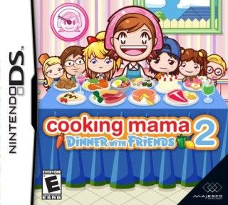 Descargar Cooking Mama 2 Dinner With Friends, nintendo ds, español, mega, mediafire