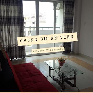Căn hộ 1 phòng ngủ chung cư An Viên khu dân cư Nam Long