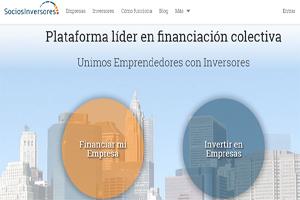 Sociosinversores, plataforma de financiación colectiva