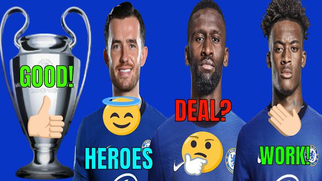 CHELSEA FC NEWS | GOOD CL DRAW | CHILWELL S HEROES | RUDIGER DEAL | HUDSON-ODOI S MOTIVATION.