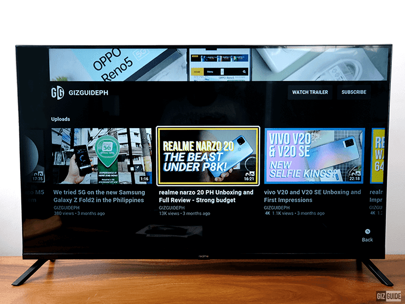 Top 5 features of the realme Smart TV