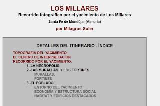 http://www.culturandalucia.com/ALMER%C3%8DA/Los_Millares_Recorrido_fotogr%C3%A1fico.htm