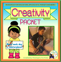 Creativity Character Education - Social Skills Teaching Packet