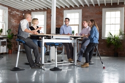 Collaborative Conference Room with Ergonomic Furniture