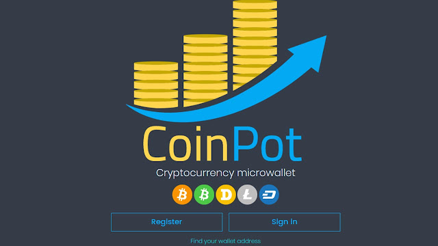Créer un compte Coinpot Wallet