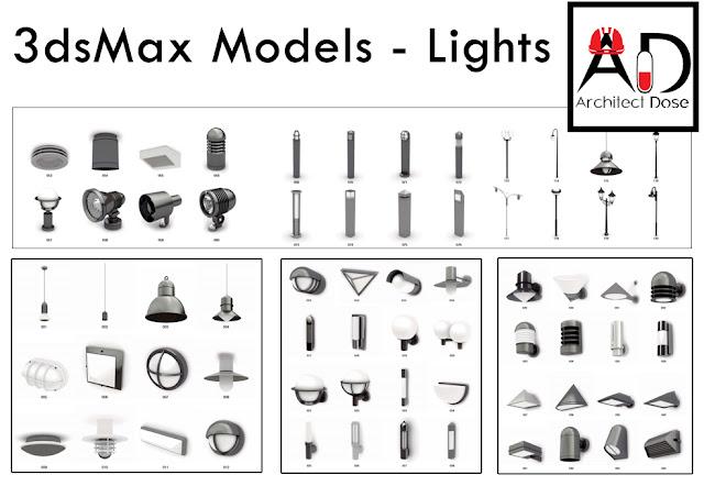 3dsMax MODELS - LIGHTS