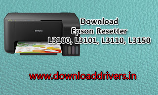 Epson resetter, Epson L3100, Download L3101 adjustment tool, Epson L3110 WIC reset program, Download Free Reset tool for L3150