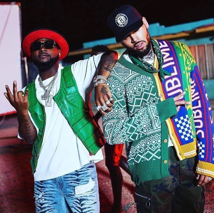 Gbagam!! See Reactions As Davido's 'Blow My Mind' Ft. Chris Brown Hits 1m Views In 11 Hours