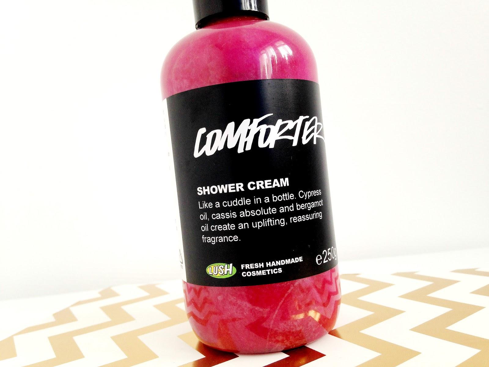The Lush Comforter Moisturising Shower Cream