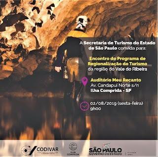 Ilha Comprida sedia Encontro do Programa Regionalização do Turismo na sexta 02/08