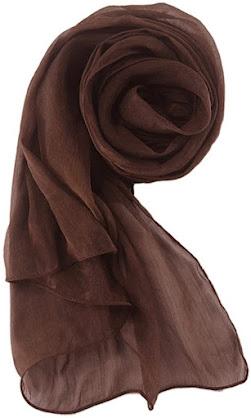 Best Plain Sheer Chiffon Scarves Shawls Wraps