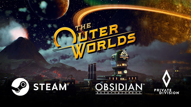 the outer worlds steam release date pc obsidian entertainment private division take-two interactive sci-fi action role-playing game