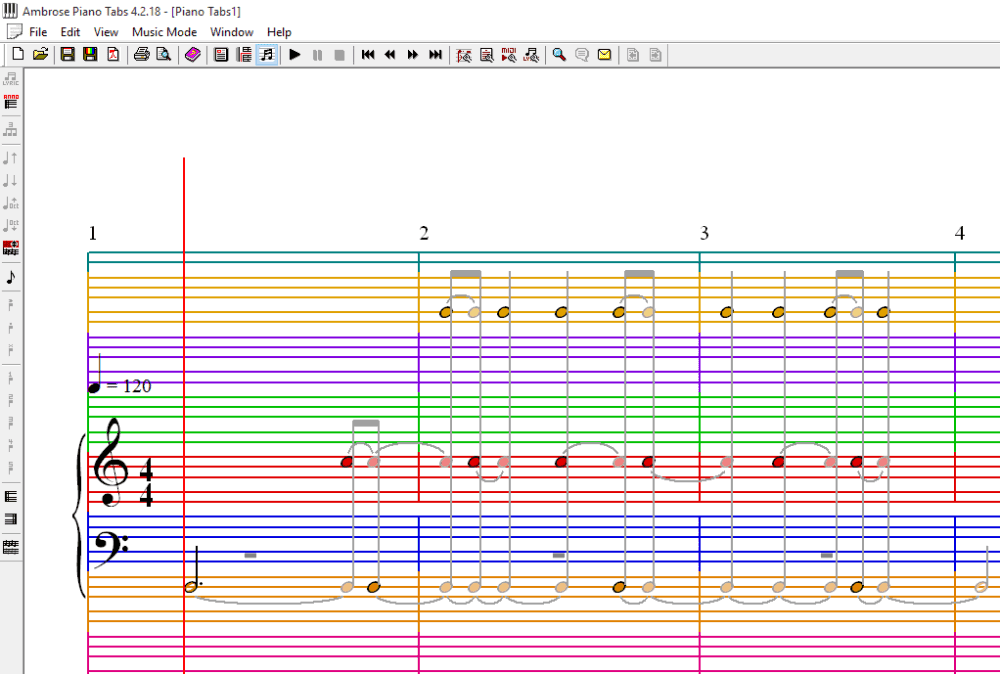 Best free sheet music maker software for windows tricks for Software di piano planimetrico