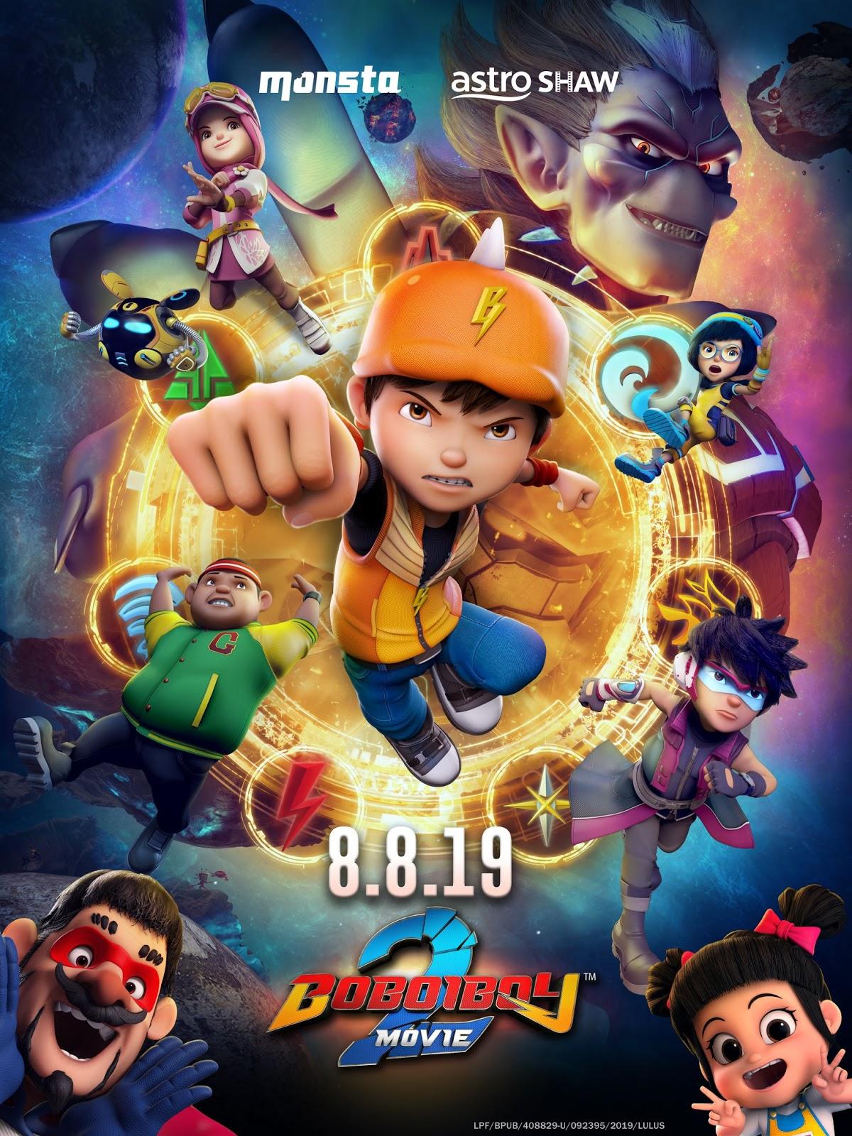 Boboiboy Movie 2 (2019) Full Movie