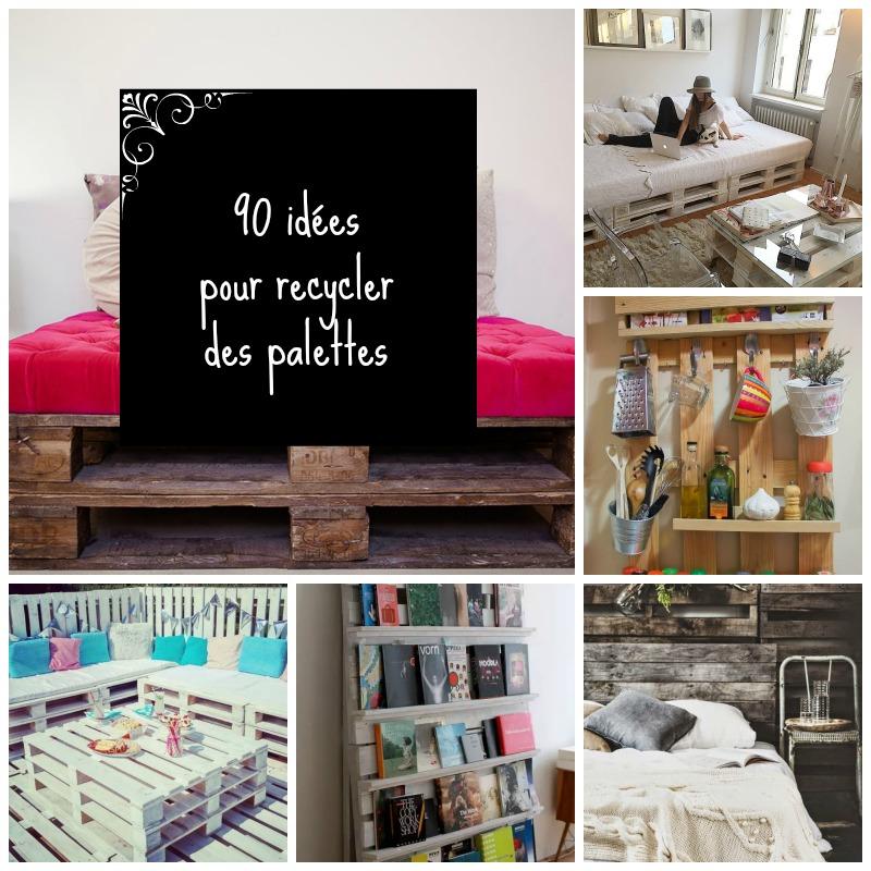 home garden 90 id es pour recycler des palettes. Black Bedroom Furniture Sets. Home Design Ideas