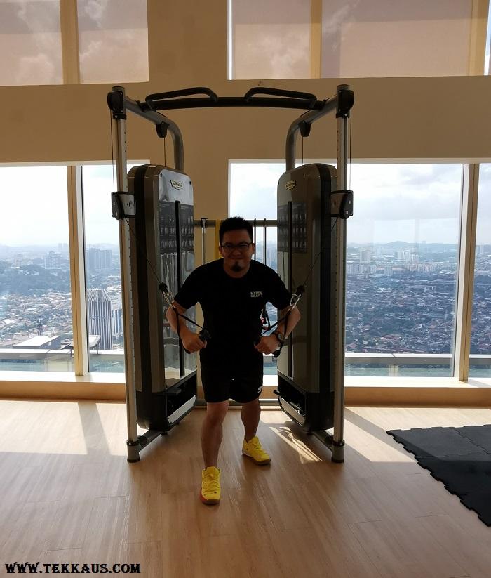 Sheraton PJ Fitness Gym Equipment Facilities Opening Hours
