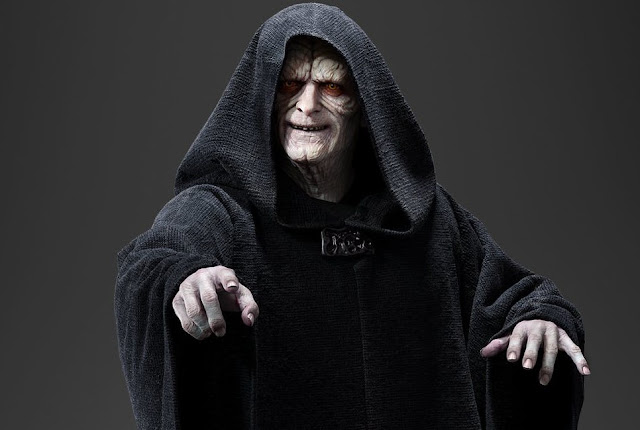 "Imperador Palpatine retorna para ""Star Wars: Episódio IX"""
