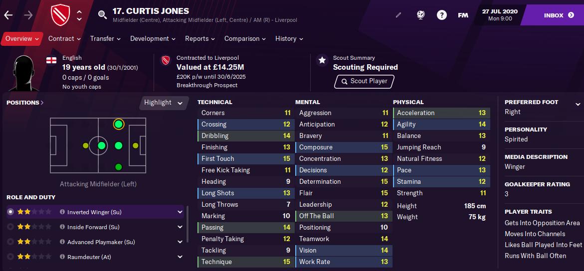 Curtis Jones FM21