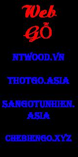 ads web gỗ
