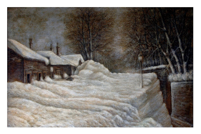 House In Winter W Snow Vintage Painting Watercolor By Vera Nelson To Prevent And Cure Diseases