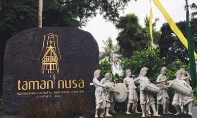 Mudik Lebaran ke 'Taman Nusa', Taman Wisata Budaya Indonesia