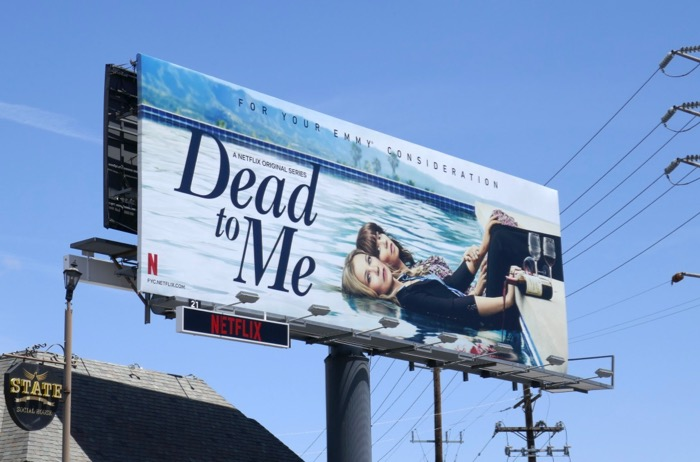 Dead to Me season 1 Emmy FYC billboard
