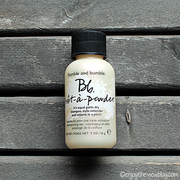 bottle of bumble & bumble pret-a-powder dry shammpoo