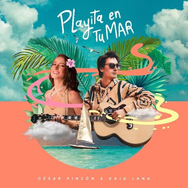 """aia Lana presenta junto a César Pinzón  """"Playita en Tu Mar"""""""