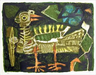 Oiseau - Antoni Clavé
