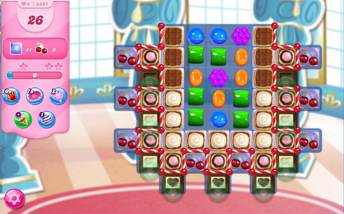 Candy Crush Saga level 5291