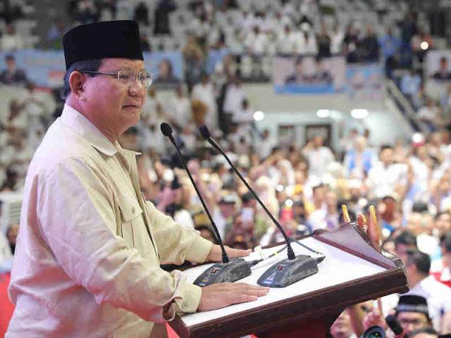 Prabowo Subianto Ungkap Rakyat Indonesia Ingin Perubahan