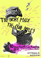 Concierto de The Ivory Maze y The Crab Apples en Café la Palma
