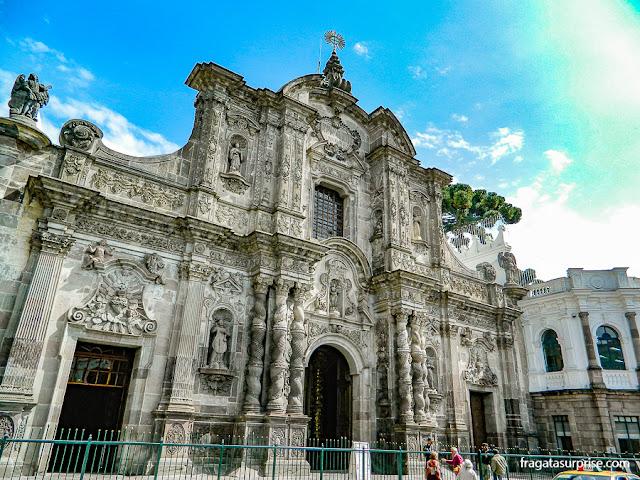 Igreja de La Compañia (Igreja dos Jesuítas), Quito