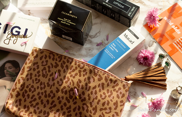 ipsy Glam Bag Plus November наполнение и отзыв