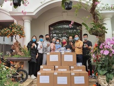 Tuấn Hưng tặng 20.000 khẩu trang cho Bệnh viện Bệnh Nhiệt đới T.Ư