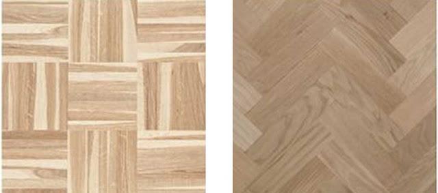 motif lantai kayu