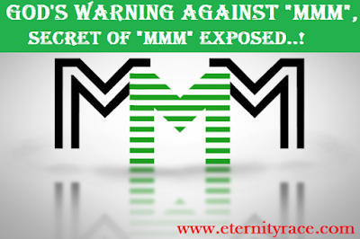 God's Warning To The Church--The Secret Fraudulent Scheme Of MMM Exposed