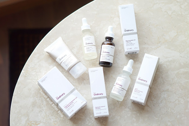 The Ordinary Vitamin C Suspension 23% + HA Spheres 2%, Niacinamide 10% + Zinc 1% ,Plant-Derived Squalane and Salicylic Acid 2% Solution