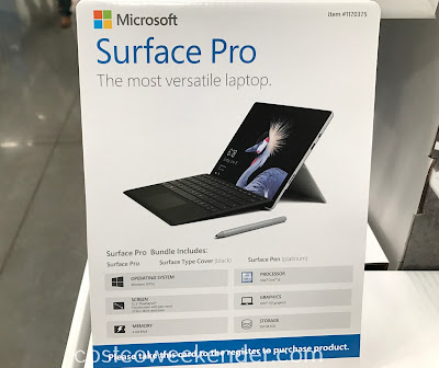 Get the convenience of a tablet and power of a laptop with the Microsoft Surface Pro