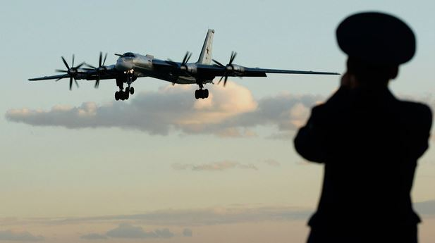 US fighters flew to intercept Russian Tu-95 from Alaska
